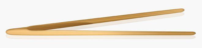 Spa Simplu Hold Bamboo Tongs