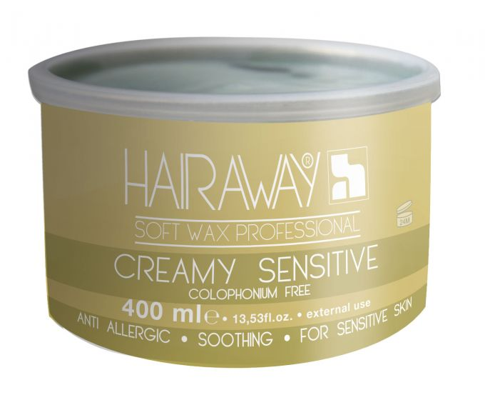 Resiné By HAIRAWAY® Creamy Sensitive Resin Wax
