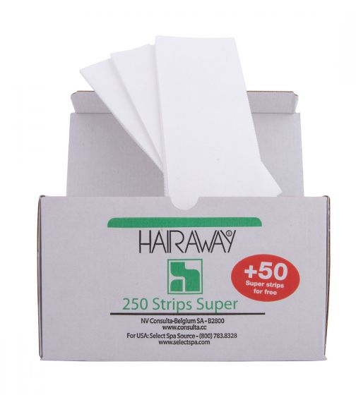 Resiné By HAIRAWAY® Super Depilatory Strips 300 Count