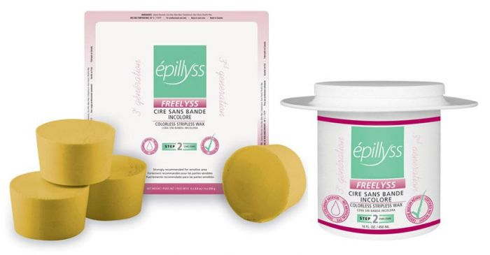 Epillyss Freelyss Colorless Stripless Wax