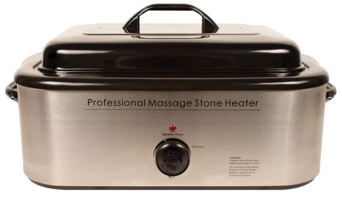 Professional Hot Stone Massage Heater 18 Quart