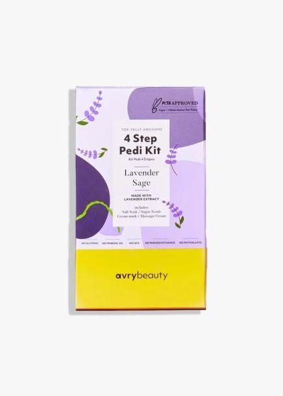 AvryBeauty 4 Step Pedi Kit