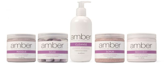 Amber Manicure & Pedicure Collection Lavender