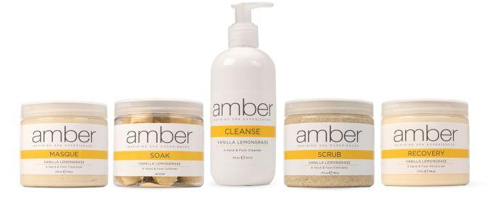 Amber Manicure & Pedicure Collection Van. Lemongr.
