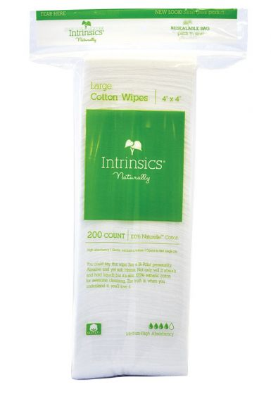 Intrinsics Large Cotton Wipes