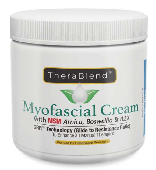 TheraBlend® Myofascial Massage Cream (By the Makers of Cryoderm®)