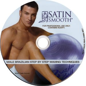 Satin Smooth Male Brazilian Training DVD