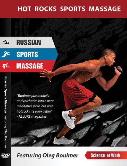 Oleg Bouimer's Russian Hot Rocks Sport Massage DVD