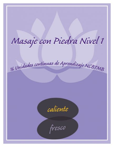 Stone Massage Home Study Level I 16 CEU-Spanish