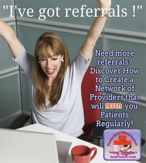Doctor Driven Referral System For Mt's-Gold