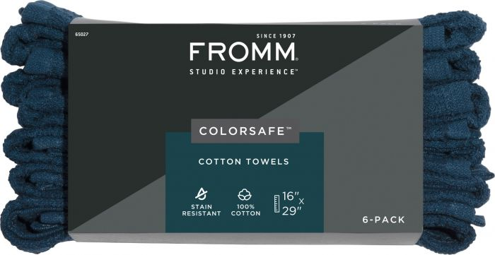 Fromm ColorSafe™ Cotton Towels - 6 Ct