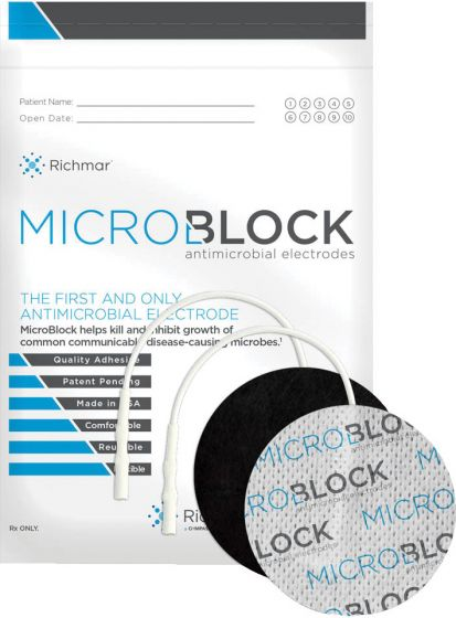 Richmar®MicroBlock Anti-Microbial Electrodes - 2
