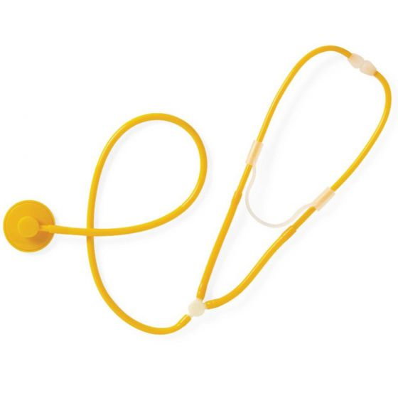 Disposable Stethoscope - Yellow