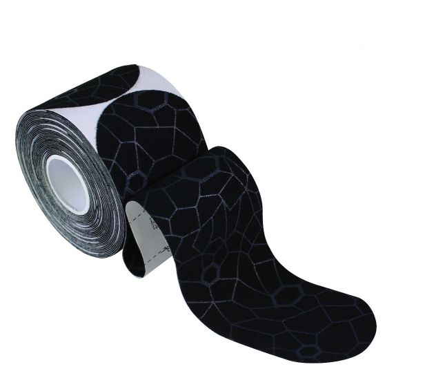 TheraBand® Kinesiology Tape - Pre-Cut Roll, Buy 1 Roll Get Black/Grey Roll FREE
