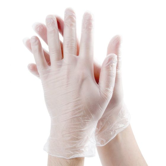 All Purpose Vinyl Gloves Powder Free 100 Count