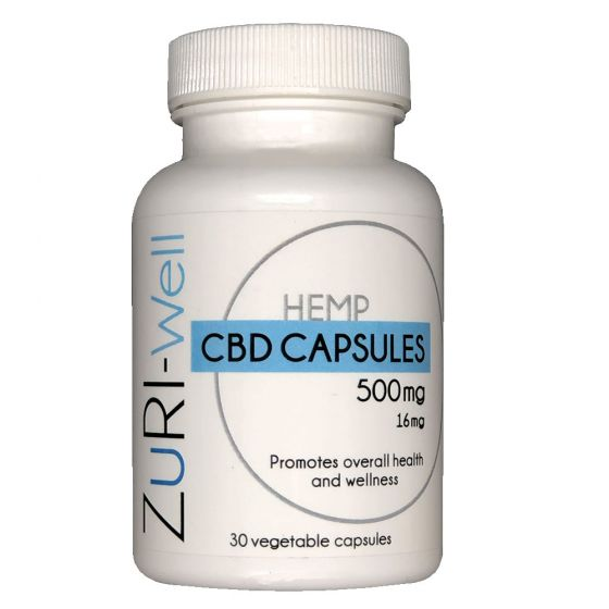 ZuRI™ CBD Wellness Capsules 30ct