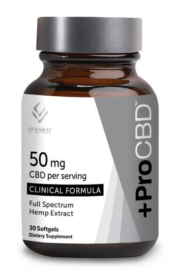 +ProCBD™ Softgels Clinical Formula