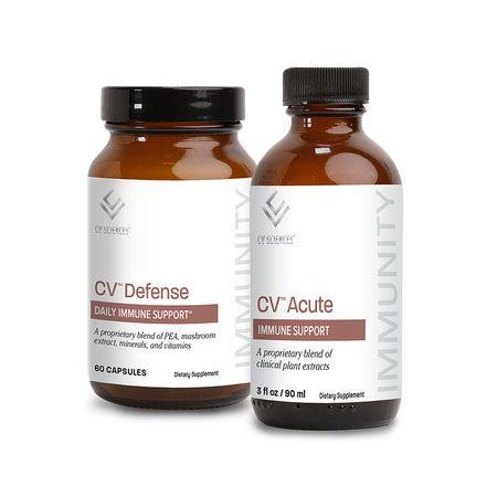 Buy CV™ Defense Daily Immune Support Get CV™ Acute Immune Support Free