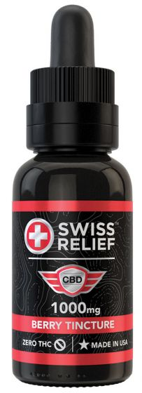 Swiss Relief™ CBD Tinctures - 30 mL