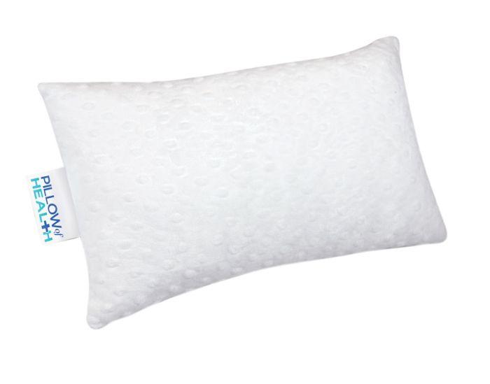 Pillow Of Health Fleece Lumbar Pillow White