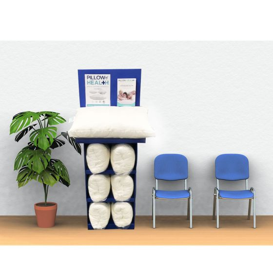 Pillow Of Health Chiro Elte Disply W/7Pill/50Broch