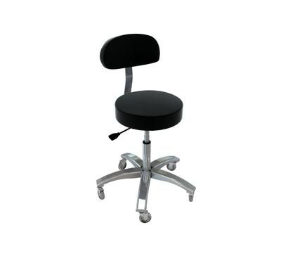 TouchAmerica Prostool with Back - Low Height Option
