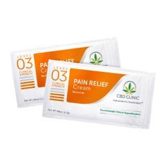 CBD CLINIC™ Clinical Strength Topical Analgesic Sample Packets - Level 3 Cream1.7g - Pack of 20