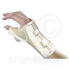 Wrist and Thumb Spica Splint