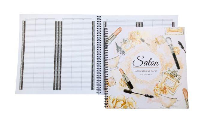 Salon Appointment Book - 6 Columns