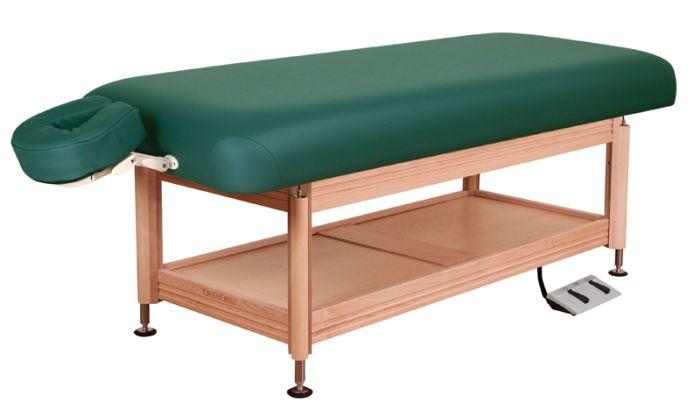 Oakworks® Clinician Electric-Hydraulic Flat Top Salon Table