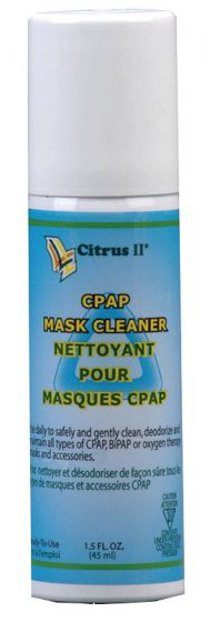 095 0339: Citrus Ii Cpap Cleaners