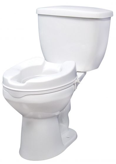 Drive Raised Toilet Seat without Lid - 4