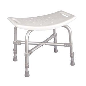Heavy Duty Bath Bench Without Back - Deluxe Bariatric Bath Seat