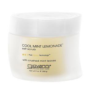 Giovanni Cool Mint Lemonade Salt Scrub 9 Oz