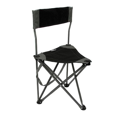 On-Site Therapist Stool Black With Back