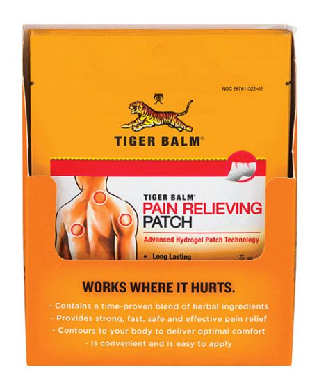 Tiger Balm Patch 12 Ct Display