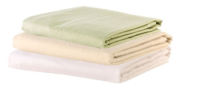 NRG Deluxe Flannel Flat Massage Sheet Singles