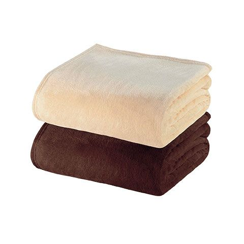 Earthlite® Premium Microfiber Fleece Blanket
