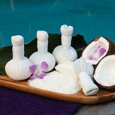 Thai Herbal Massage Balls, Coconut