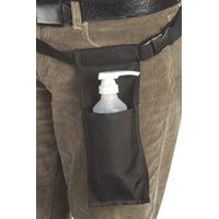 Massage Lotion Bottle Holster - Black