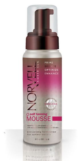 Norvell Self Tanning Mousse - 8 Oz