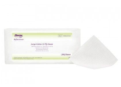 DUKAL Reflections™ Large Gauze Facial Wipes 4