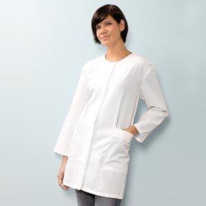 Betty Dain Esthetician Jacket White M/L