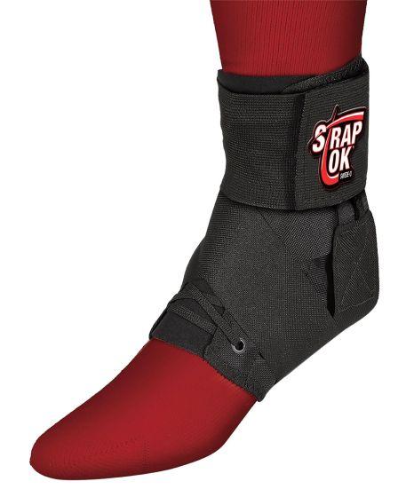 Swedeo Strap Lok Ankle Brace, Black