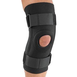 DJO Stabilized Knee Support With Open Popliteal
