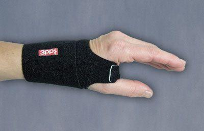 M/L Blk Wrist Wrap