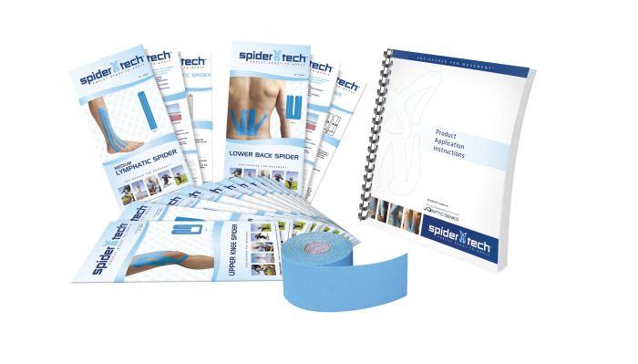 Spidertech Starter Kit (Blue) 30 Pre-Cuts