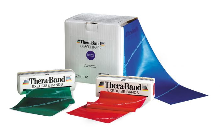 Thera-Band Professional Resistance Band, 6 Yd Dispenser Box