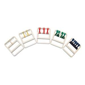 Cando Color Coded Rubberband Hand Exerciser