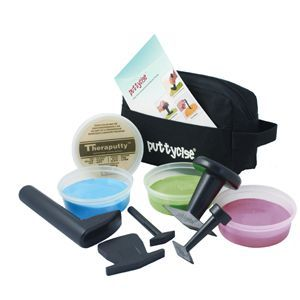 Puttycise Theraputty Set Easy, 5 Tools, 6 Oz (4)